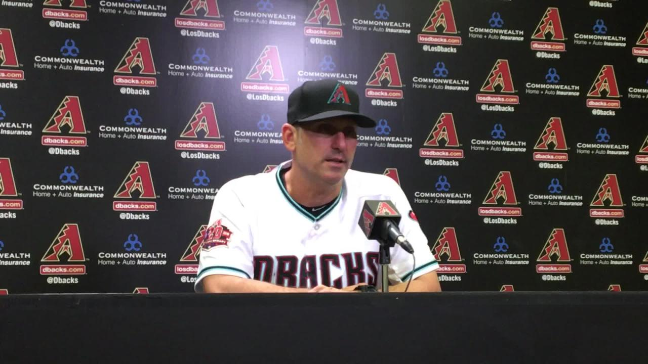 Behind a walk-off home run from Eduardo Escobar, the Diamondbacks beat the Dodgers 4-3 at Chase Field on Tuesday.