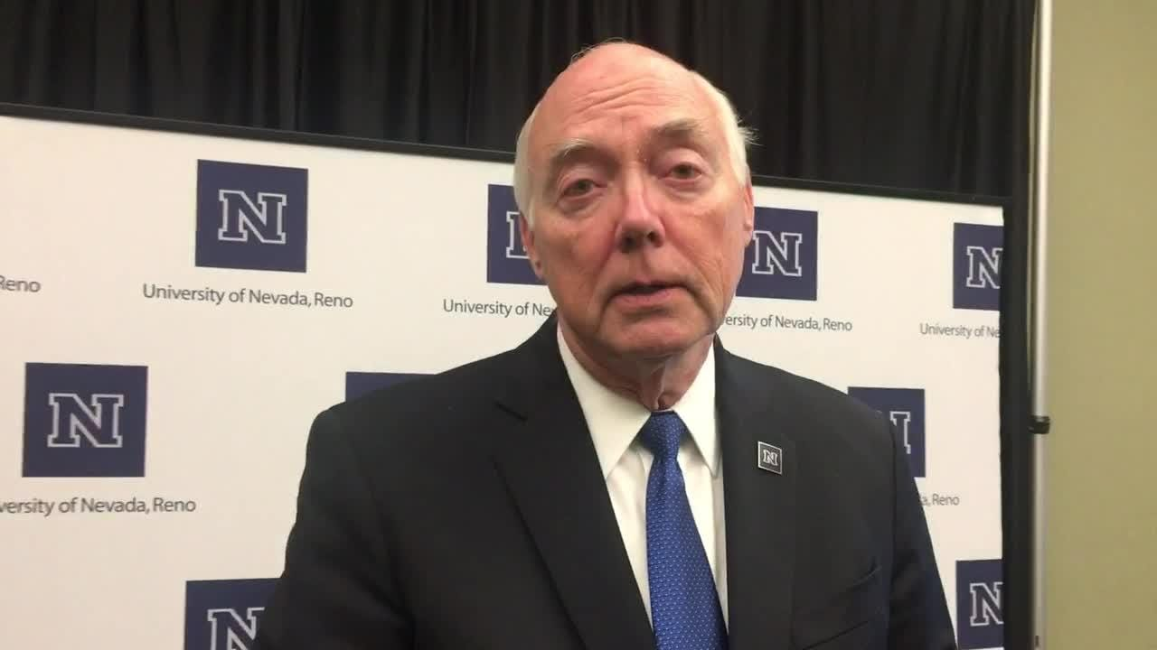 "UNR President Marc Johnson talks about sexual assault in wake of news about Supreme Court nominee Brett Kavanaugh. ""The news of the day should tell anyone who is a young person on our campus that these sorts of activities and incidents will follow them for the rest of their lives and it should..."""