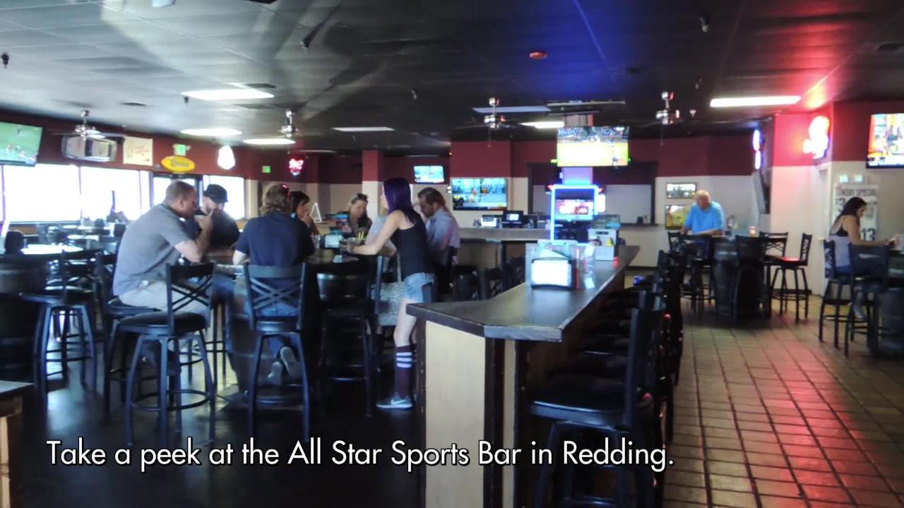 DATE's Dining Out visits  the All Stars Sports Bar in Redding