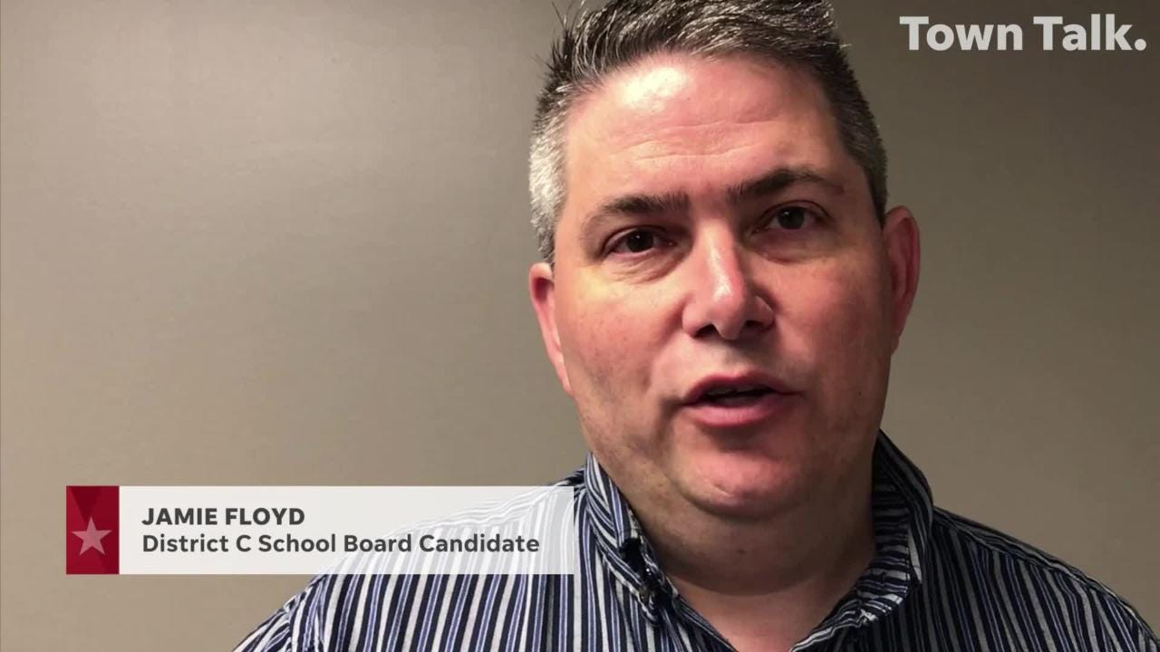 Jamie Floyd is running for Rapides Parish School Board District C.