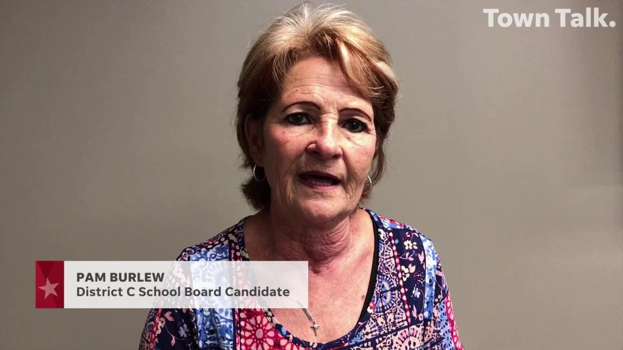 Pam Burlew is running for Rapides Parish School Board in District C.