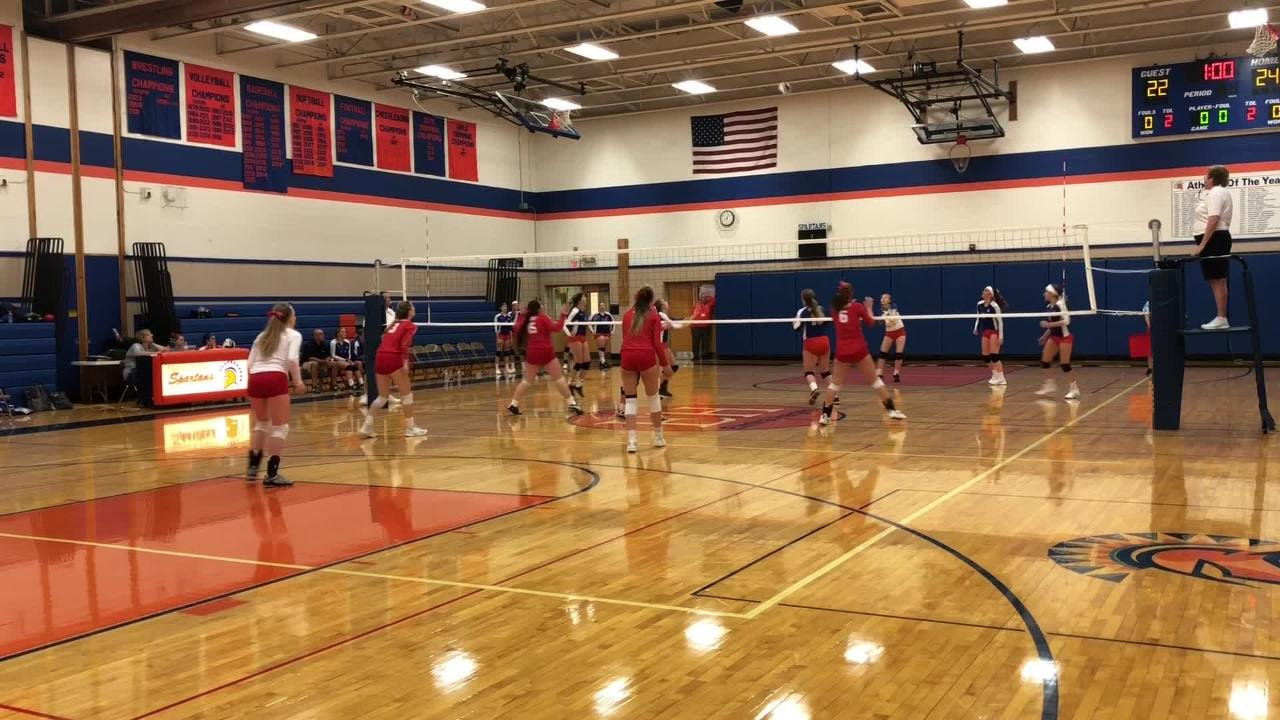 Thomas A. Edison overcame a 2-0 deficit to beat Waverly, 3-2, in volleyball Sept. 26, 2018 in Elmira Heights.