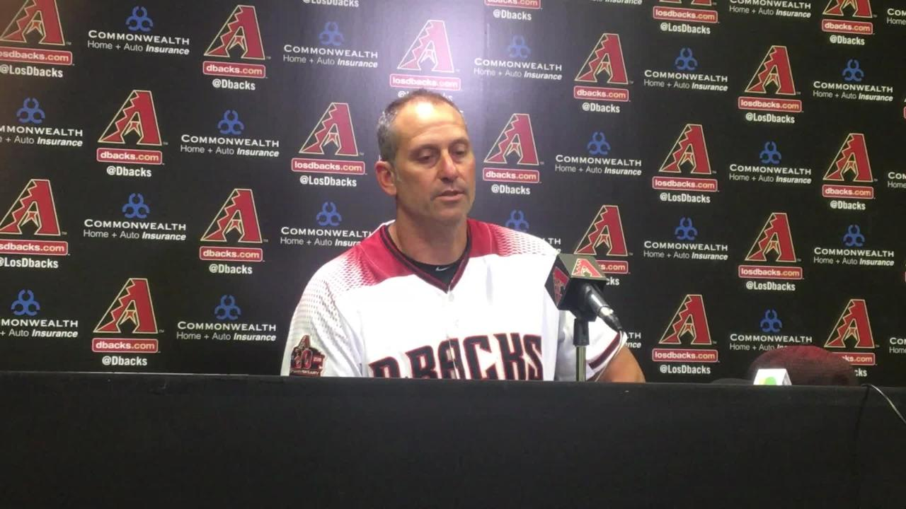 The Diamondbacks are done at Chase Field this season, but they inflicting some damage on the Dodgers. The team won 7-2, with three players homering.