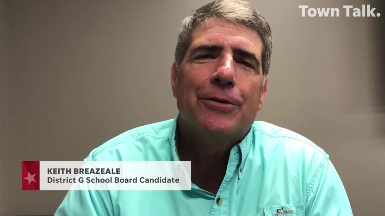 Meet the candidate: Keith Breazeale, School Board District G