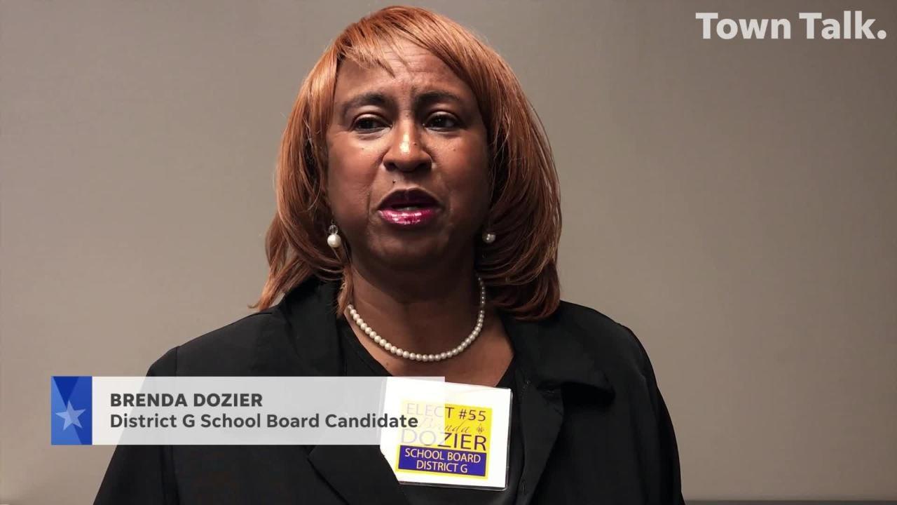 Meet the candidate: Brenda Dozier, School Board District G
