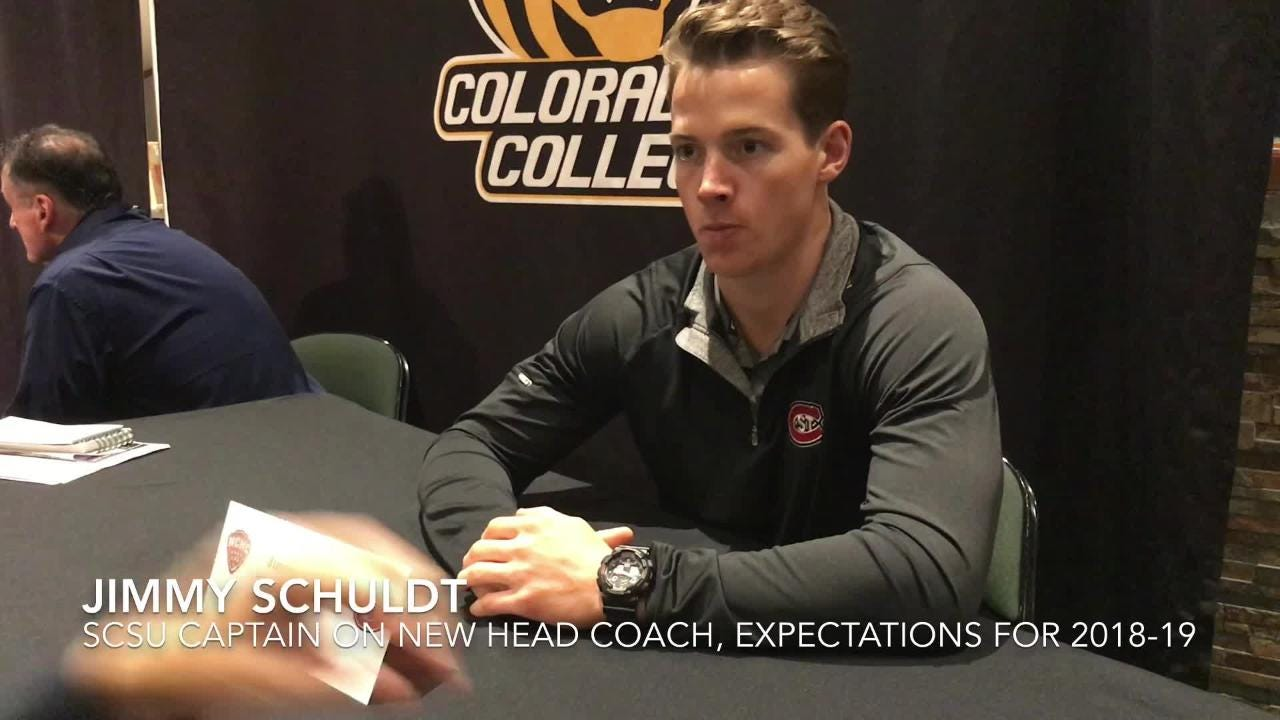 SCSU captain Schuldt talks about new head coach, outlook for the team, end to last season