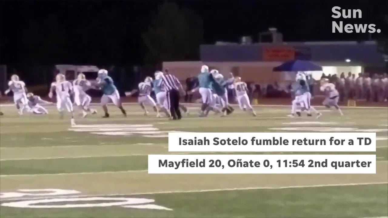 Mayfield beat Oñate 48-13 Thursday night at the Field of Dreams to improve to 2-0 in District 3-6A play.