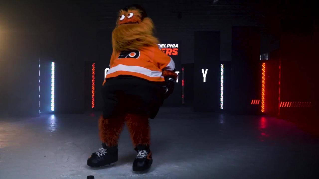 Gritty's Philadelphia introduction