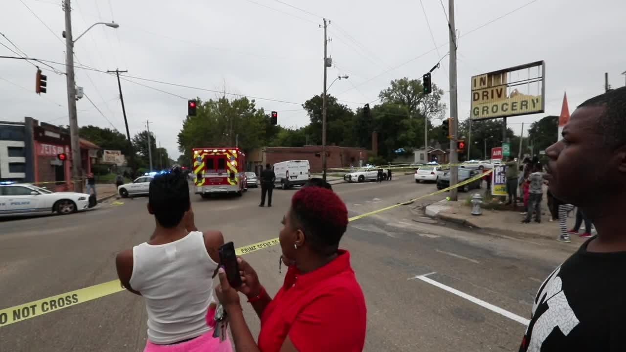 Chaotic crash scene ends MPD Pursuit