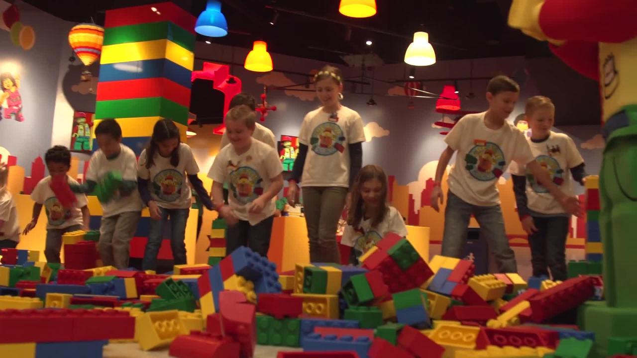 LEGOLAND Discovery Center Columbus opened Friday