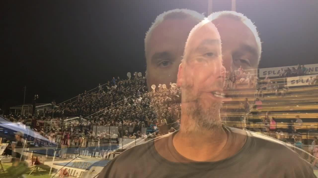 Highlights, reaction from head coach Bobby Clayton and Christian Murphy after Gulf Breeze's 38-14 win over Milton in a district opener.