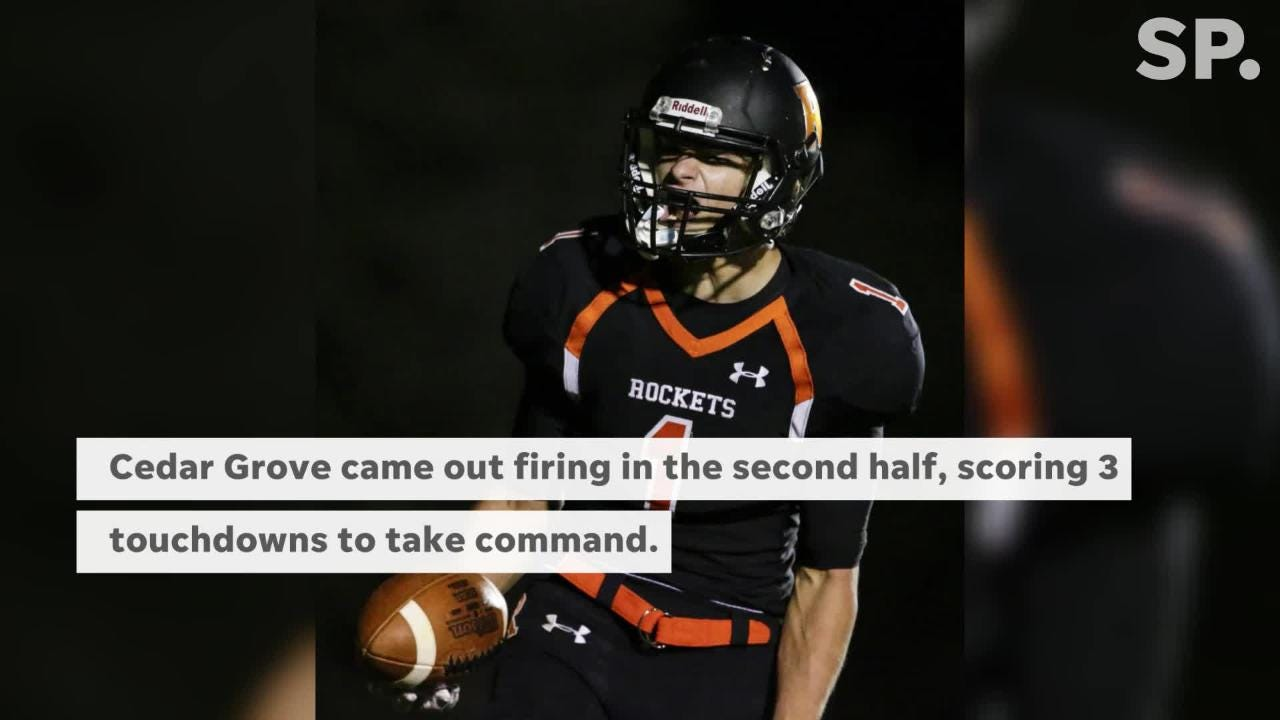 Cedar Grove-Belgium limited Reedsville to 127 yards of offense in a 28-7 victory in a battle of Big East unbeatens.