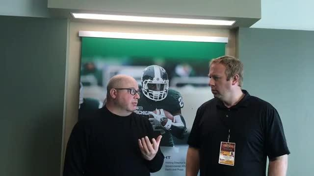 Chris Solari and Graham Couch share their thoughts after Michigan State football's 31-20 win over Central Michigan on Saturday, Sept. 29, 2018.