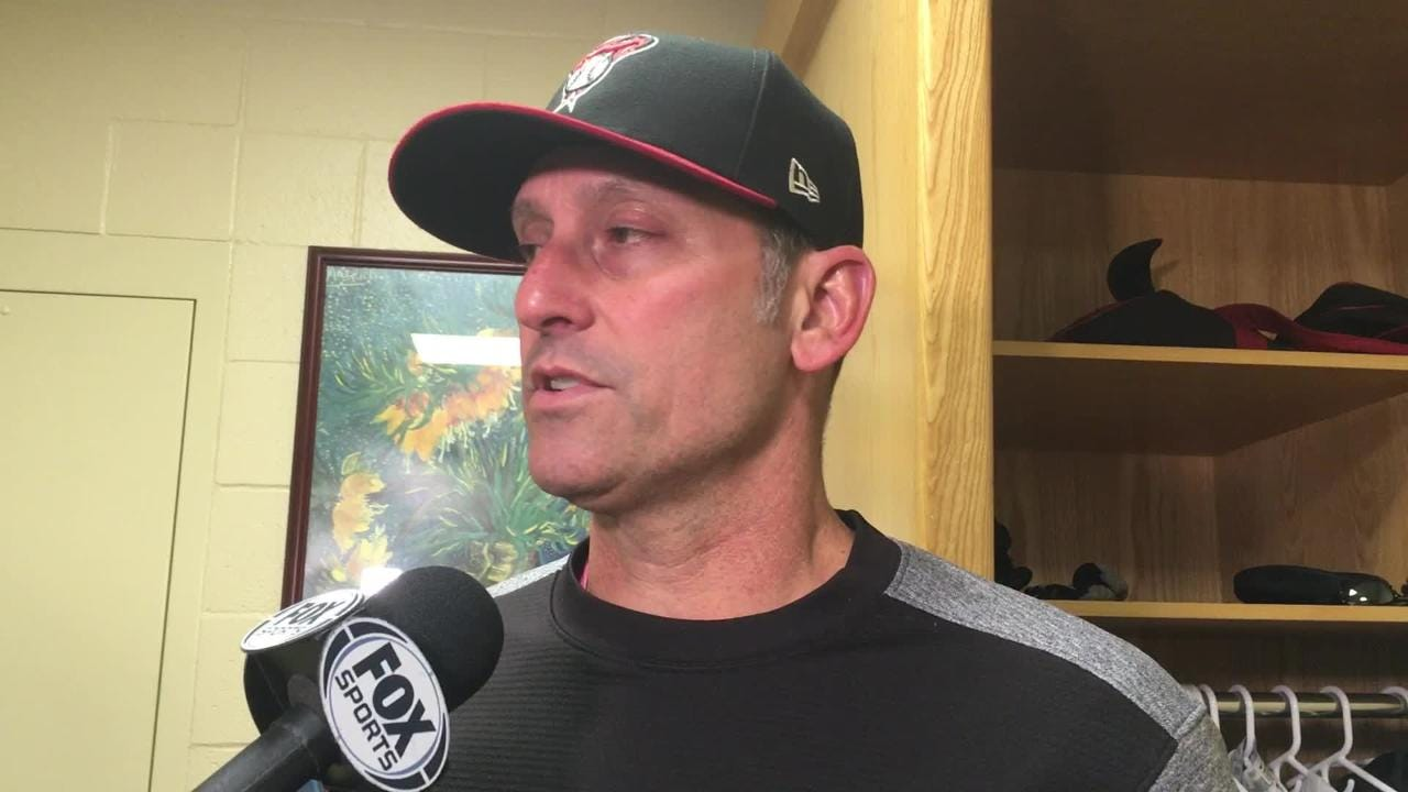 Diamondbacks manager Torey Lovullo talks about his team's 82nd win of the season, ensuring a winning season despite a brutal September.