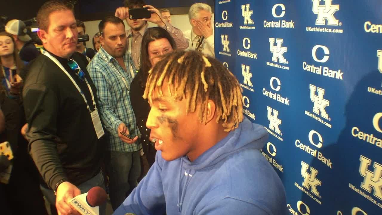 Benny Snell excited about UK's 5-0 start