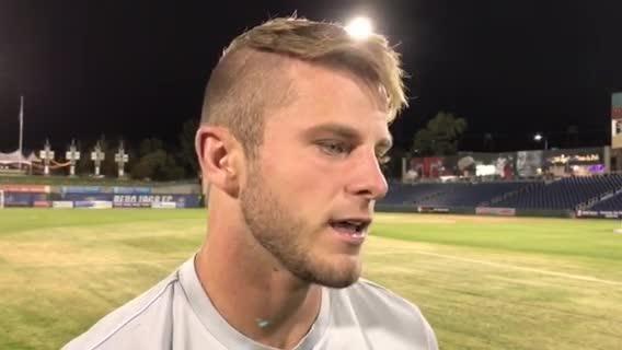 Zach Carroll talks about Reno 1868 FC beating Tulsa on Saturday night