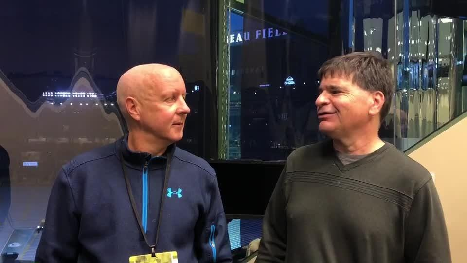 Packers beat writers Pete Dougherty and Tom Silverstein discuss the 22-0 win over Buffalo and Aaron Rodgers' reaction afterward.