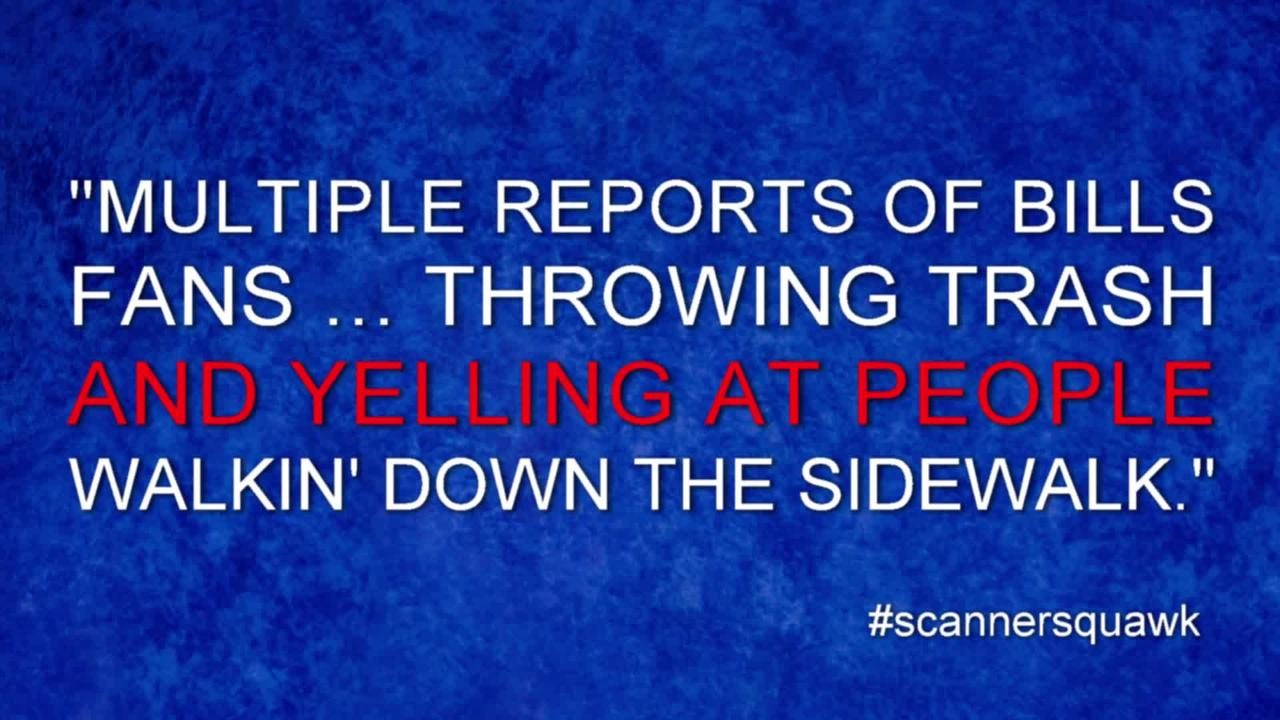 Arrests, ejections and #scannersquawk tweets from the Green Bay Packers vs. Buffalo Bills game Sept. 20, 2018 at Lambeau Field.