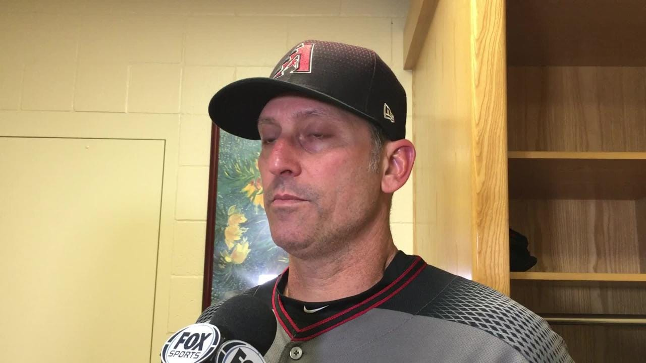 Diamondbacks manager Torey Lovullo talks about his team's disappointing finish to the season and the weird play that ended Sunday's loss in San Diego.