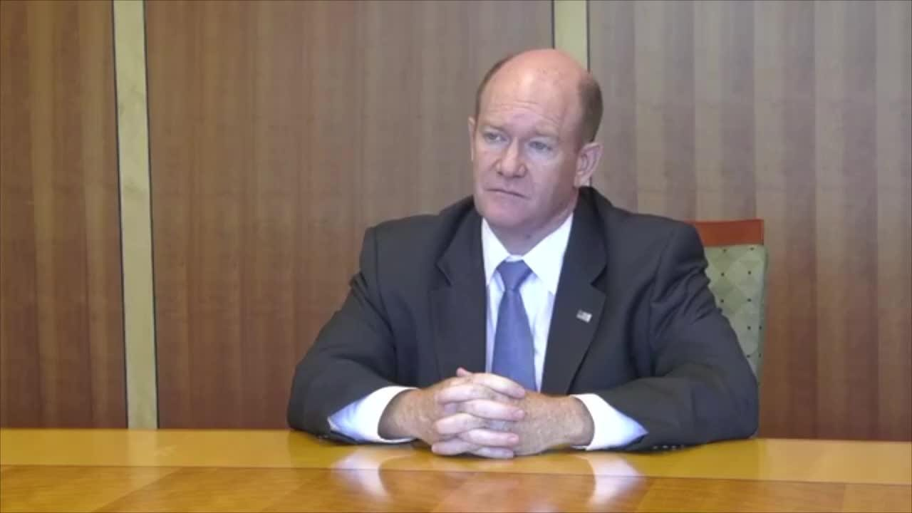 Why Delaware Sen Chris Coons Is Gravely Concerned About Kavanaugh These Are Two Of The Approximately Eighty Circuits That Christophe Brett