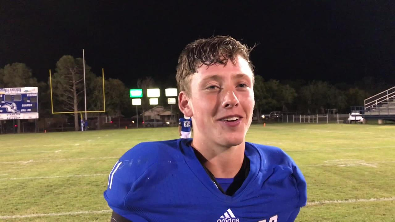 Stamford QB Peyton Bevel set two Texas high school football records Friday, Sept. 28, 2018, against De Leon: single-game passing yards and touchdowns.