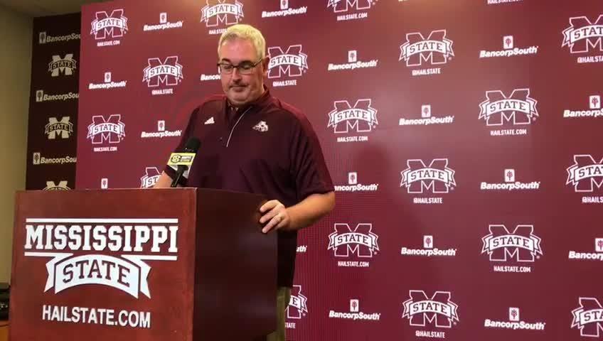 Mississippi State head coach Joe Moorhead speaks on loss to Florida, Johnathan Abram's leadership and the Bulldogs' road ahead.
