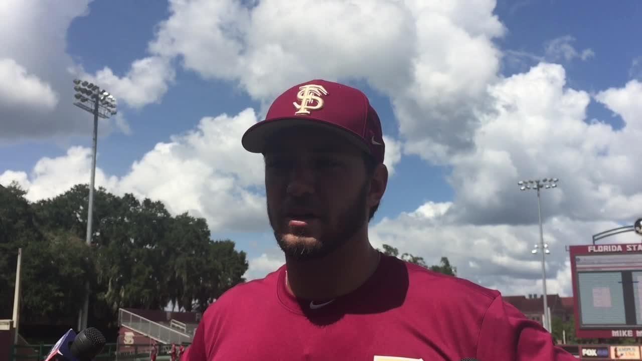 Watch it: Drew Mendoza talks before FSU opens fall camp