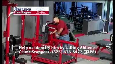 Abilene police asked helped Monday, Oct. 1, 2018, in identifying suspect in theft at Performance Lab at Primetime. Call Crimestoppers, 325-676-8477.
