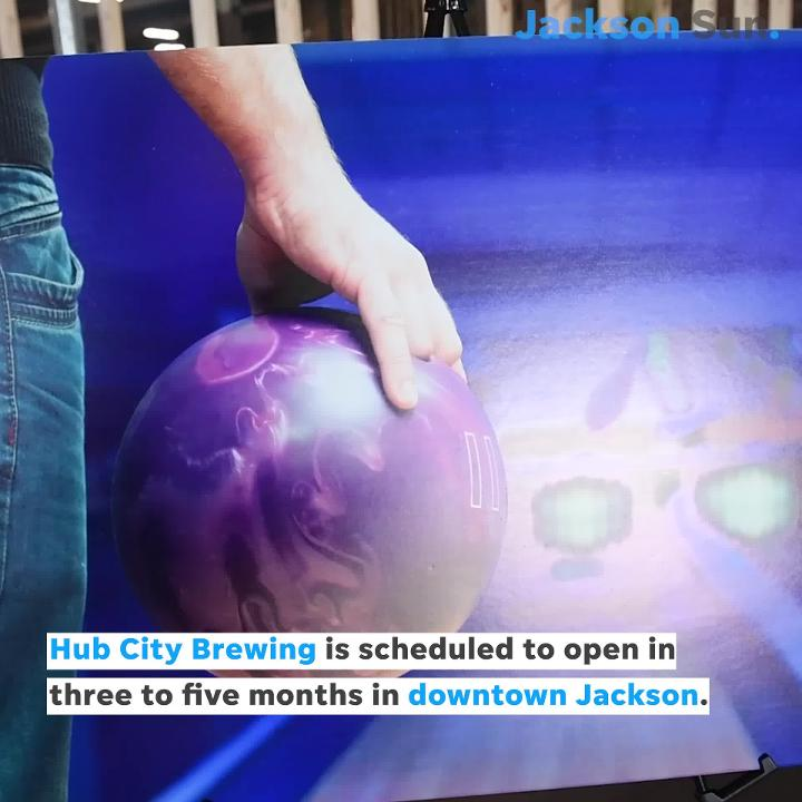 Hub City Brewery will open in downtown Jackson. The venue will include a bowling lanes and a concert stage.