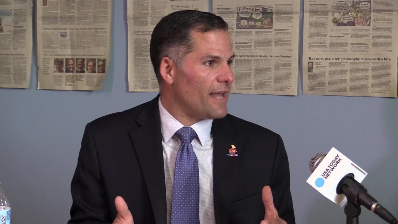Video: Marc Molinaro at the Poughkeepsie Journal