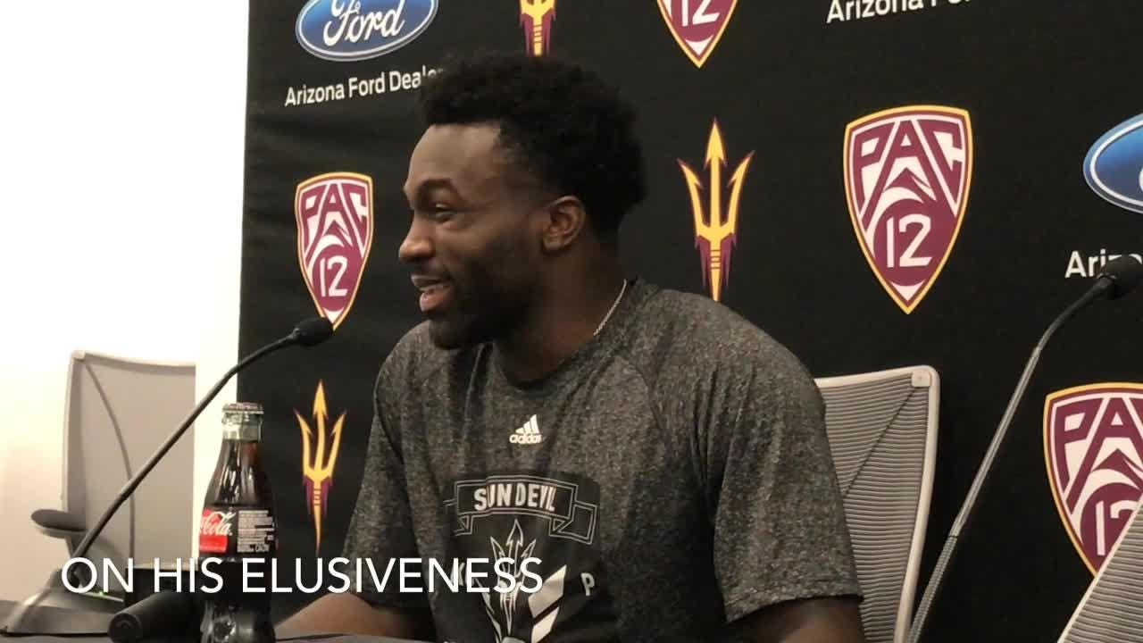 ASU running back Eno Benjamin on his record setting performance against Oregon State