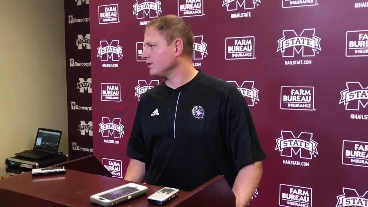 Mississippi State offensive coordinator Luke Getsy believes in the Bulldog offense in spite of recent struggles.