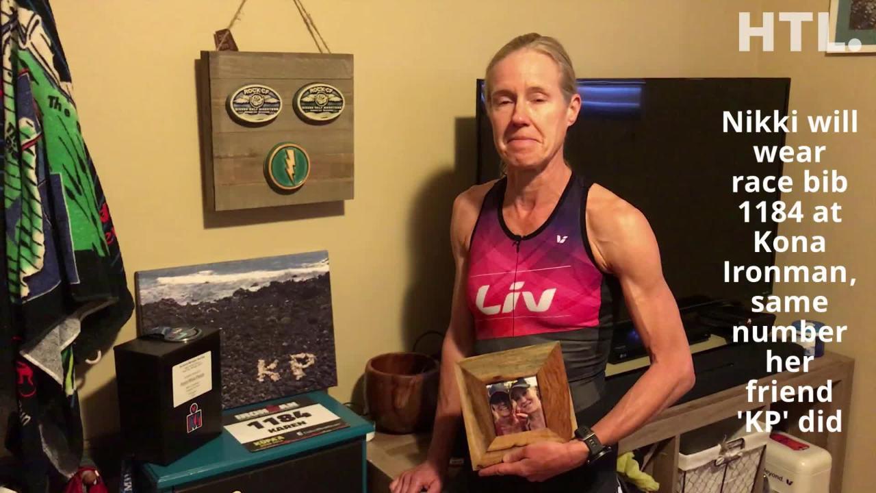Losing friend Karen Perzyk to cancer has made a huge impact on Nikki Derrick