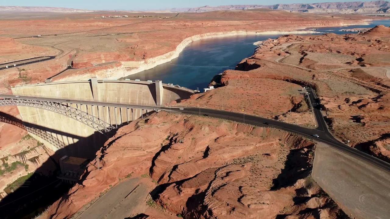 Scenes of the Colorado River are shown.