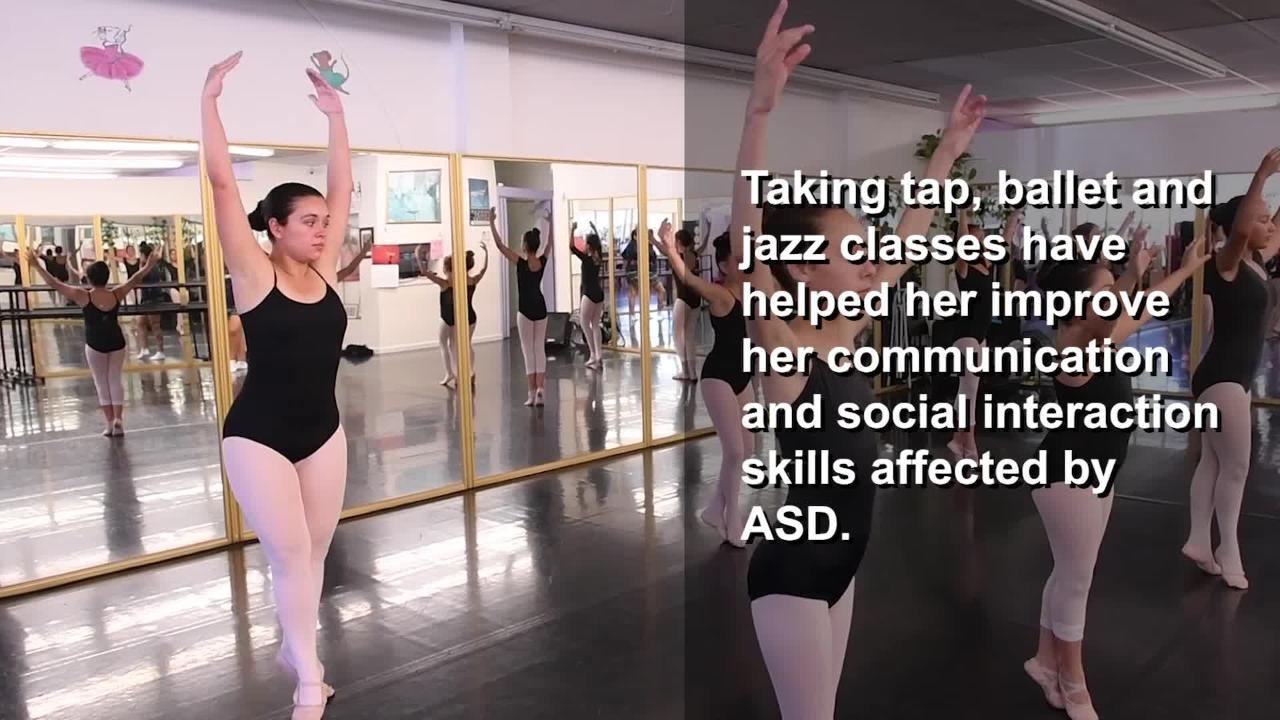 Rachel Valentin first showed signs of Autism Spectrum Disorder (ASD) at 15 months old. See how dance has changed her life for the better.