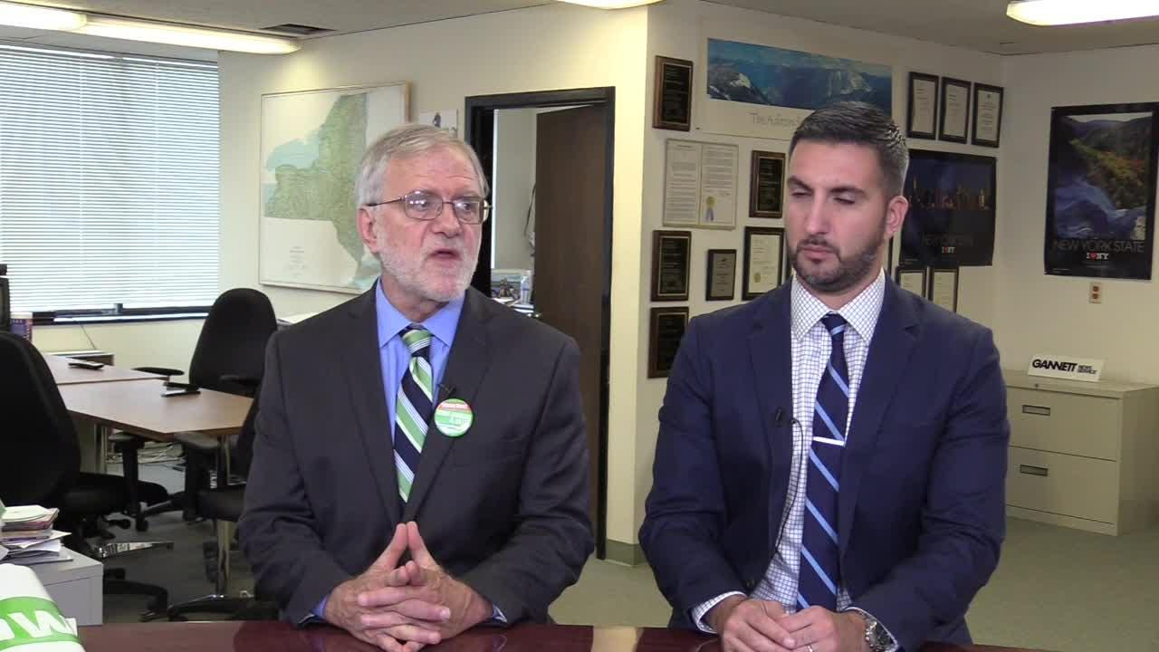 Howie Hawkins, the Green Party candidate for governor, visited the USA Today Network's Albany Bureau on Oct. 4, 2018, to discuss his run and his platform.