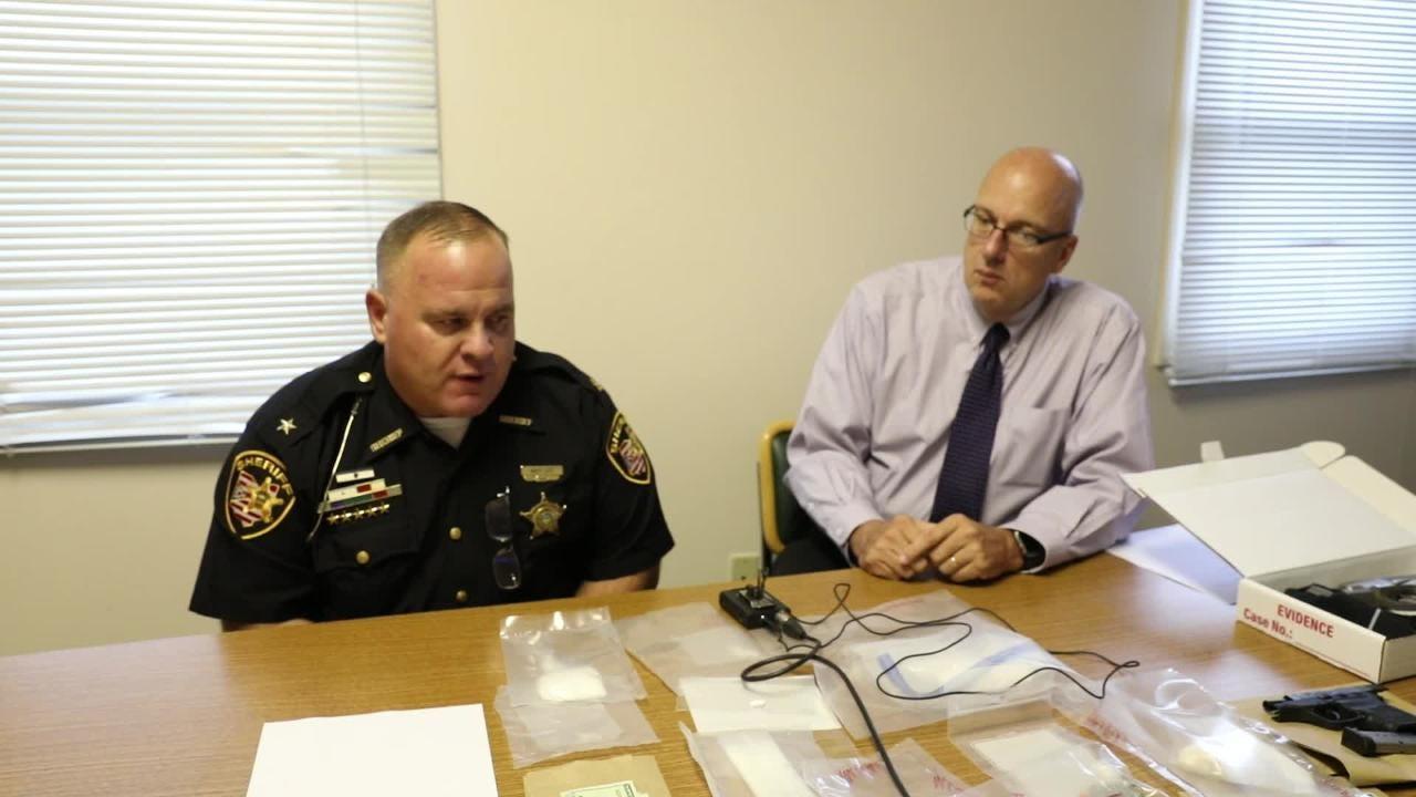 Norwood Blvd drug bust press conference