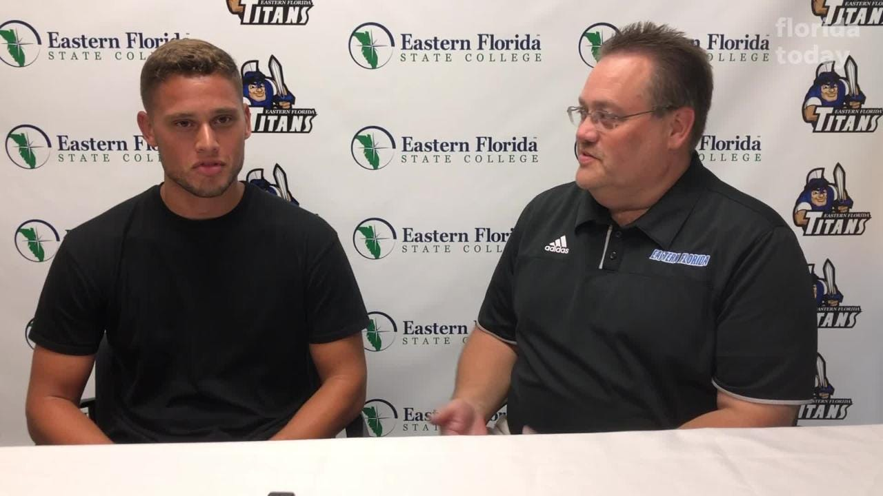 Eastern Florida State's manager of athletic communications Mike Parsons chats with Aussie sensation Aedon Kyra about this year's team.