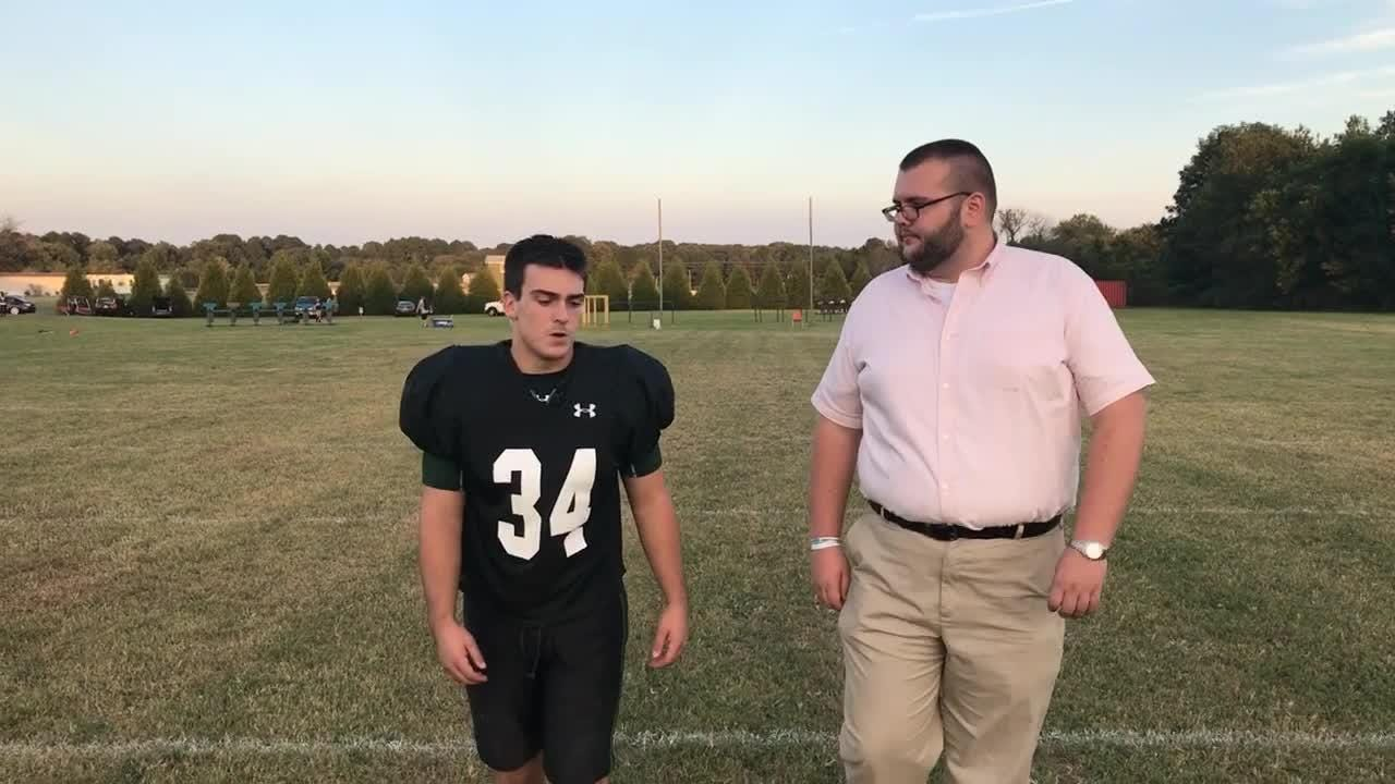 """In this episode of """"100 yards"""" Delmarva Now reporter Ricky Pollitt talks with Parkside senior and linebacker Brady Smith ahead of Friday's big game."""