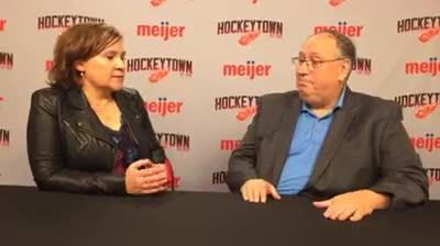On opening night of the NHL season, Free Pres sports writer Helene St. James and USA TODAY Sports' Kevin Allen preview the Detroit Red Wings season.