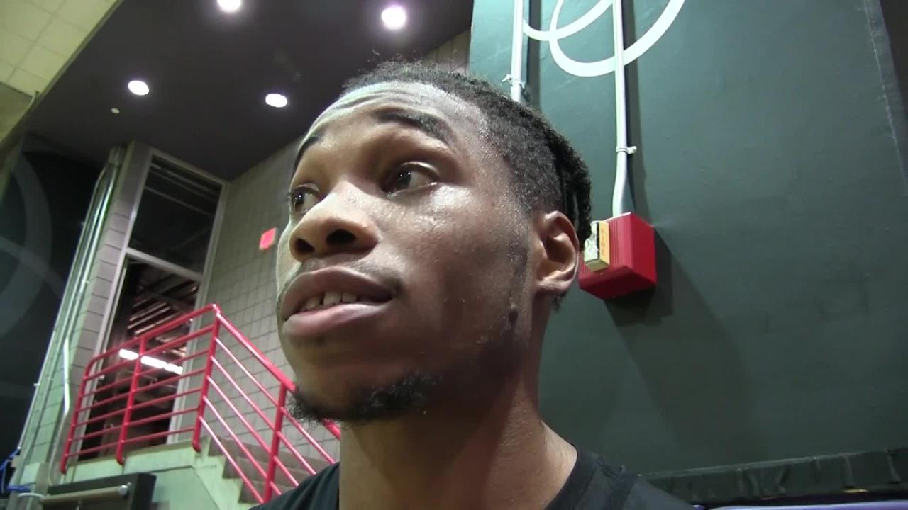 Richaun Holmes talks about how he's fitting in with Suns