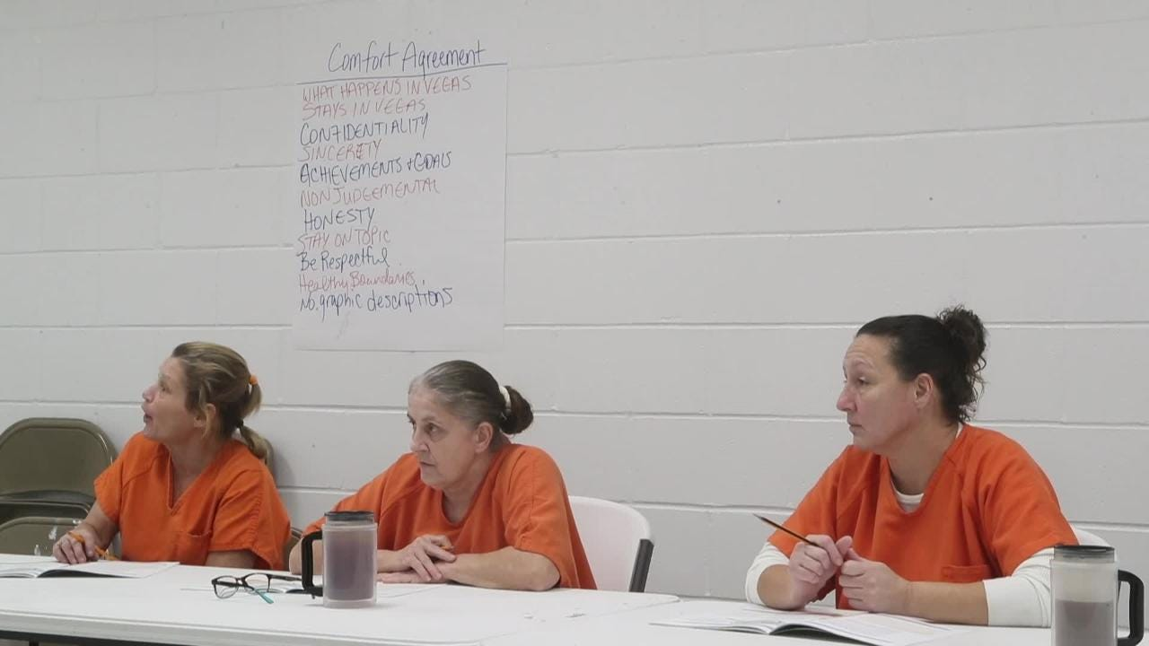 Franklin County Jail uses substance abuse counseling to fight  methamphetamine abuse