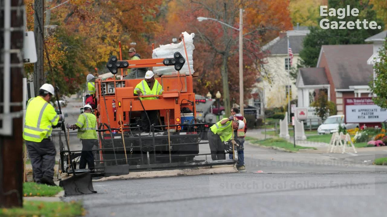 The Lancaster Engineer's office has established a process to determine which streets are paved in a given year. Watch this video to find out about it.