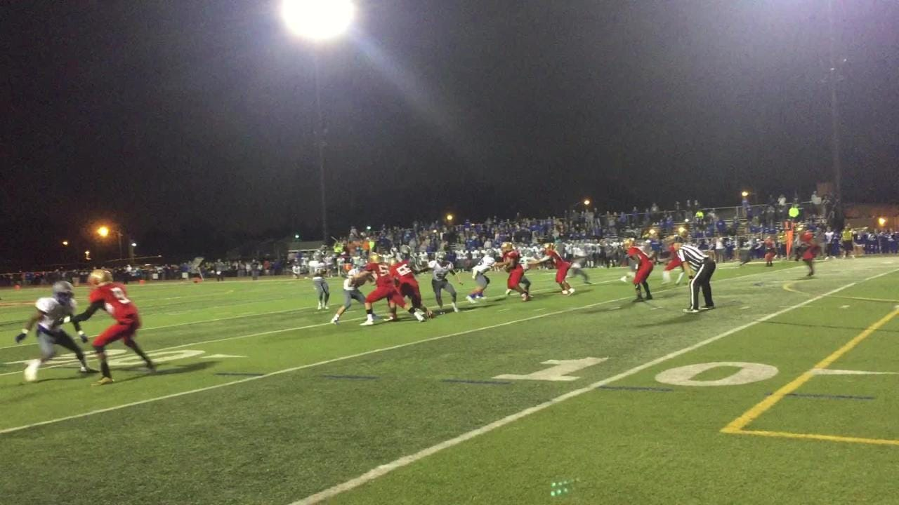 Sayreville wins with no time on clock