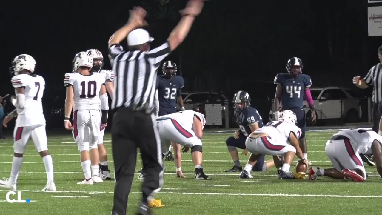 Madison-Ridgeland Academy beat Jackson Academy, 41-6, on Friday night to stay undefeated.