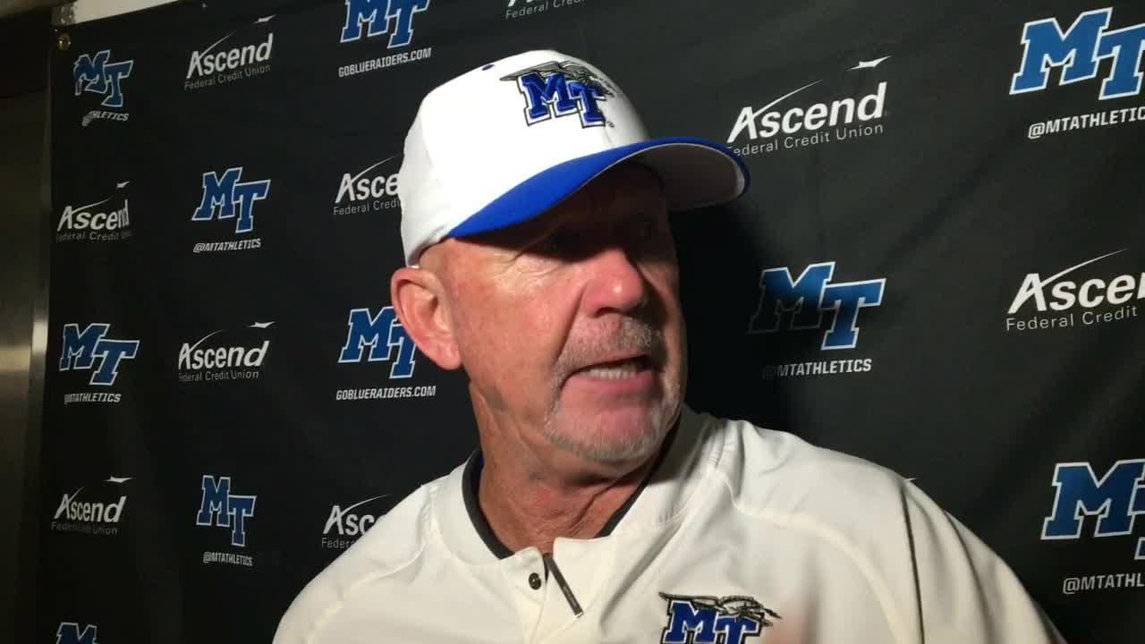 MTSU coach Rick Stockstill after win over Marshall