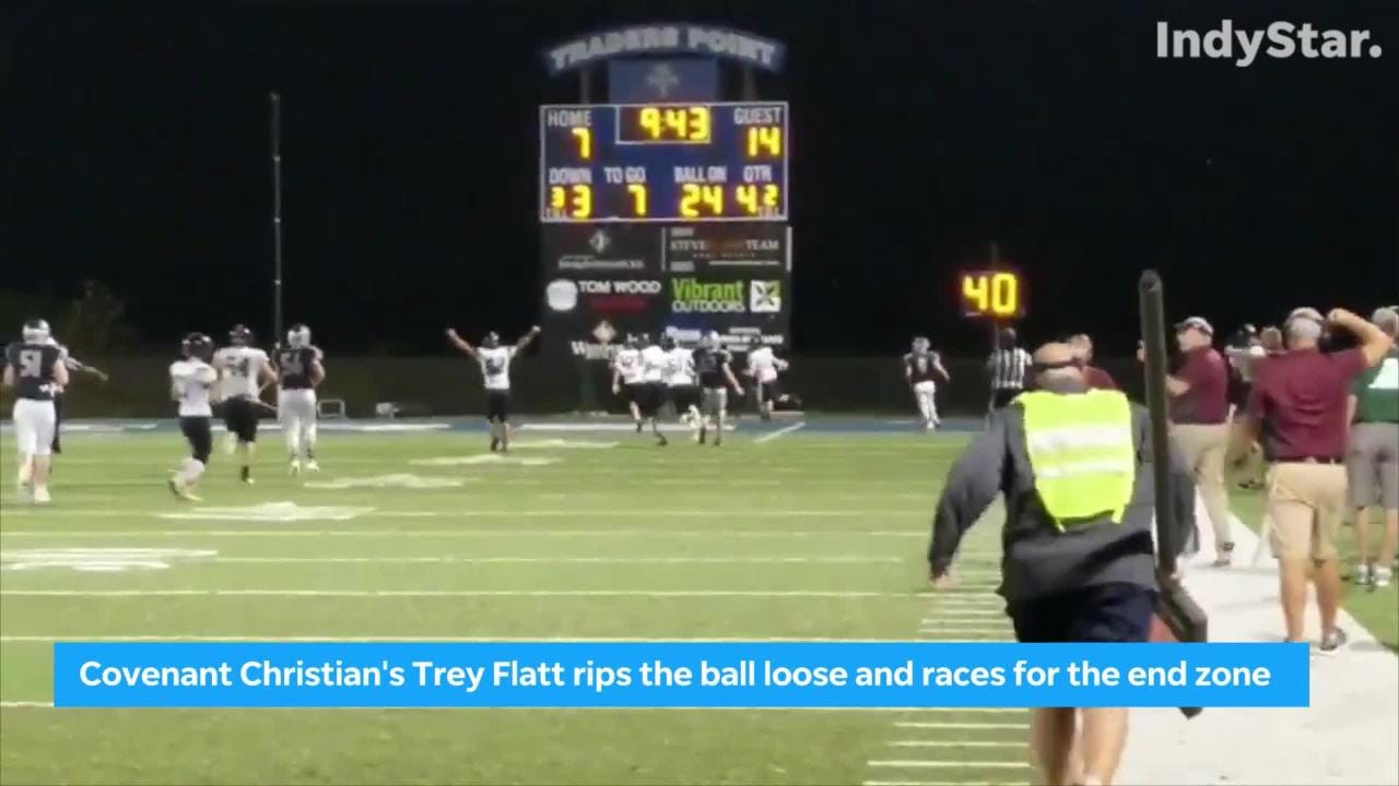 Indiana HS football highlights: Week 8 Indy-area top plays