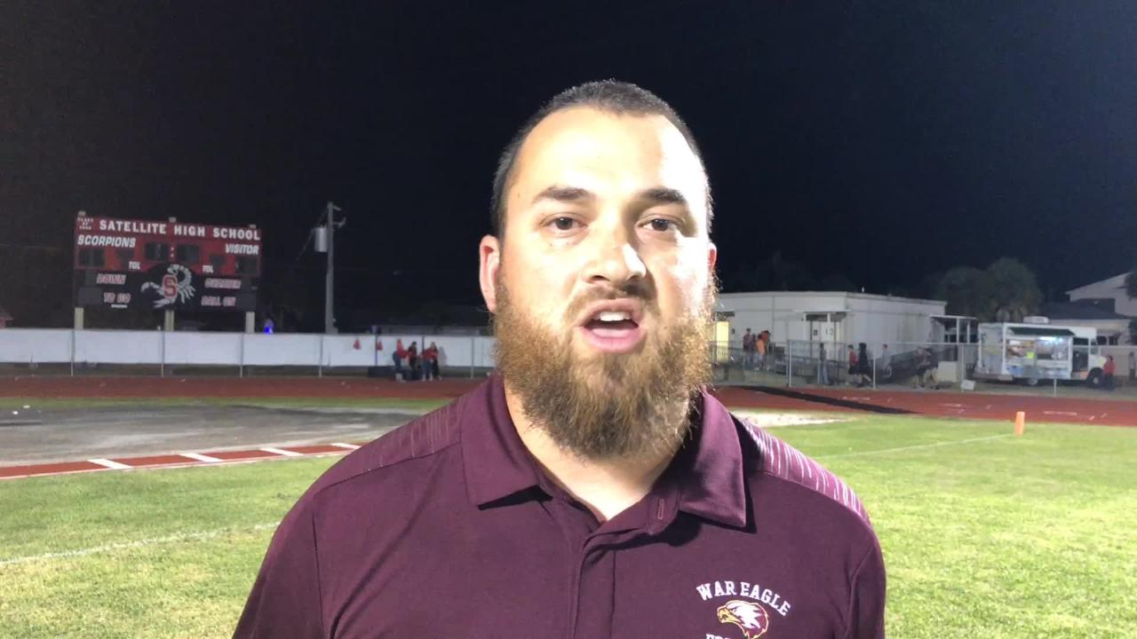 Astronaut football head coach Justin Worden talks about his team's overall play and their 4th shutout win