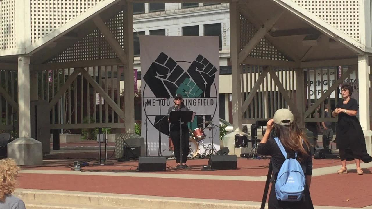 "Organizers of the ""Me Too Springfield"" rally say a state lawmaker backed out of the event, citing concerns over the ""extreme left."""