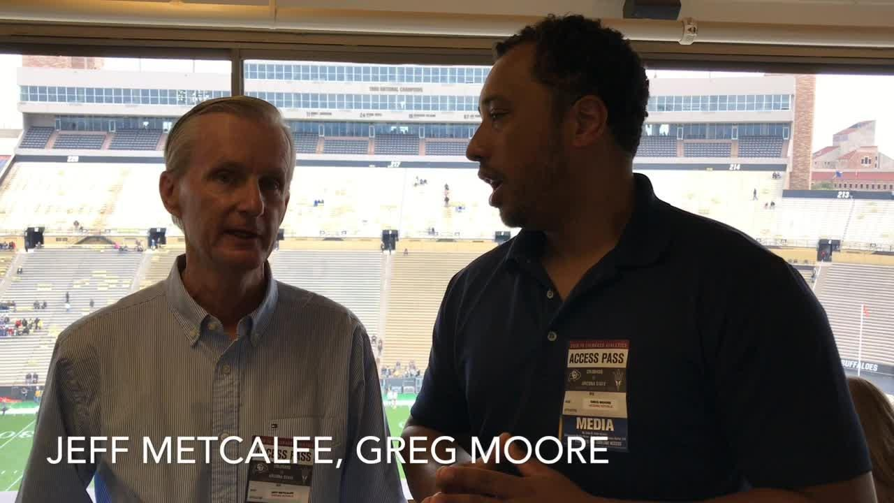 azcentral sports' Greg Moore and Jeff Metcalfe preview ASU football's matchup against Colorado in Boulder on Saturday.